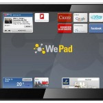 WePad - Home