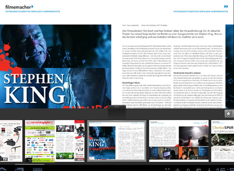Magazin der Filmemacher zoom digital als App