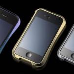 Draco Design iPhone Bumper aus Flugzeug-Aluminium