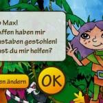 Lese Jagd für Grundschulkinder