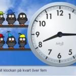 Moji Uhrenschule - Kinder lernen die Uhr