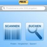 Preisvergleich-App mit Scanner von Preis.de