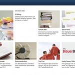Erstes digitales Steuermagazin für Web und iPad