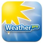 WeatherPro zum halben Preis - MeteoGroup feiert iOS 5